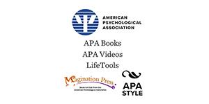 American Psychological Association, APA Books, APA Videos, LifeTools, Imagination Press, APA Style