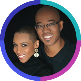 Andrea and Brian Pinkney